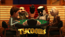 Tycoons 3D video Slot